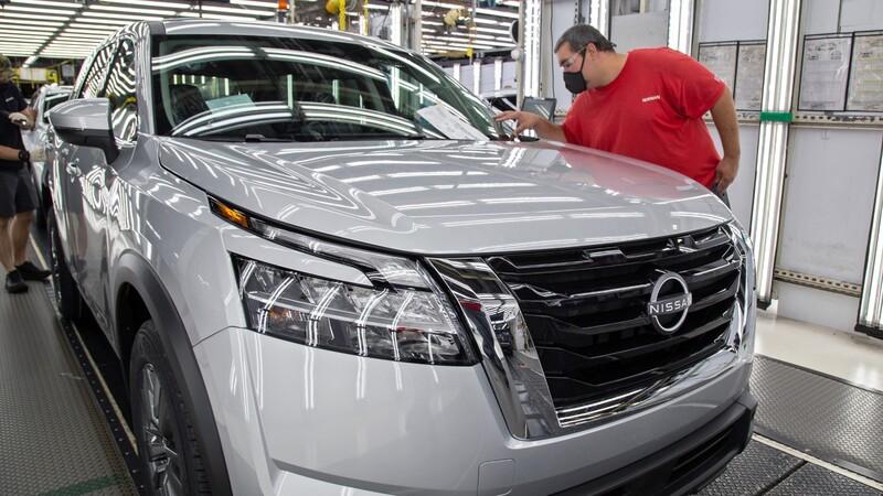 Nissan inicia la producción del nuevo Pathfinder 2022 en Estados Unidos