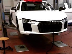 Nuevo Audi R8 espiado