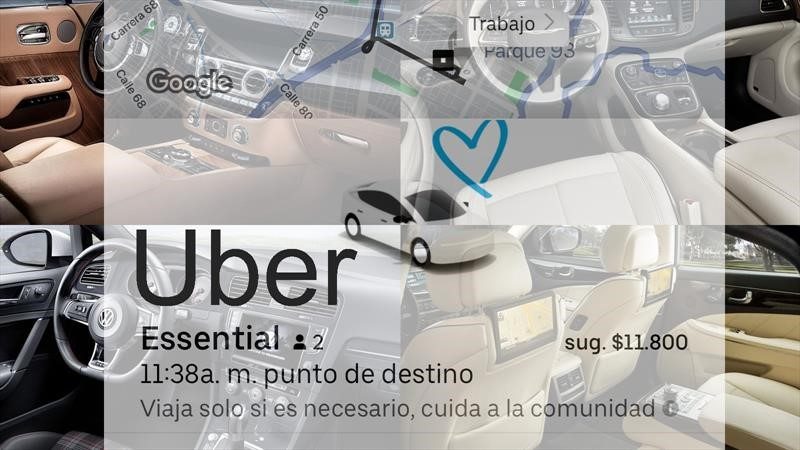 Uber reinicia operaciones en medio de la pandemia
