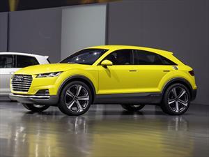 Audi TT Offroad Concept, una nueva familia para la marca de los cuatro aros