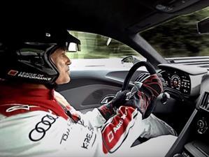 Un paseo por Nurburgring con el nuevo Audi R8 en 360 grados
