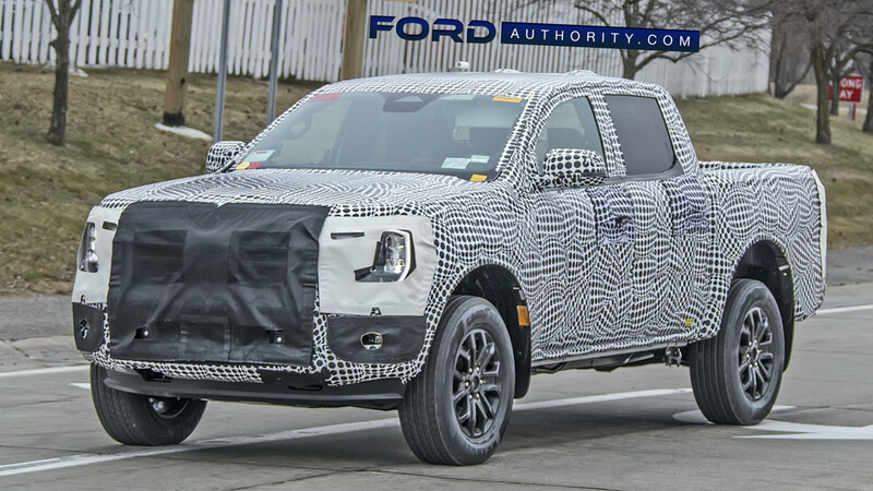 """La nueva Ford Ranger podría incluir pantalla multimedia de 15,5"""""""