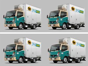 Nissan ATLAS F24, un camión frigorífico eléctrico
