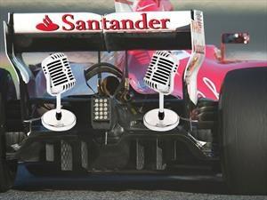 La F1 piensa en colocar micrófonos en los escapes