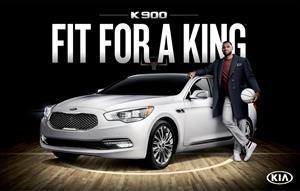 Lebron James añade un Kia K900 2015 a su colección de autos