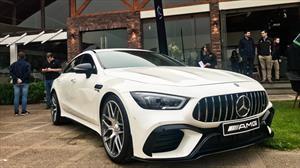 La excentricidad alemana: llega a Chile el Mercedes-AMG GT S de 4 puertas