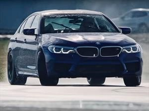 BMW M5 logra récord de drift