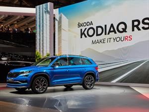 Skoda Kodiaq RS, una SUV deportiva para la Flecha Alada