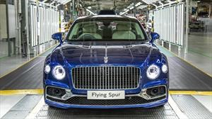 Bentley inicia la producción del Flying Spur 2020