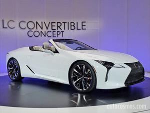 Lexus LC Convertible Concept, elegancia a techo abierto