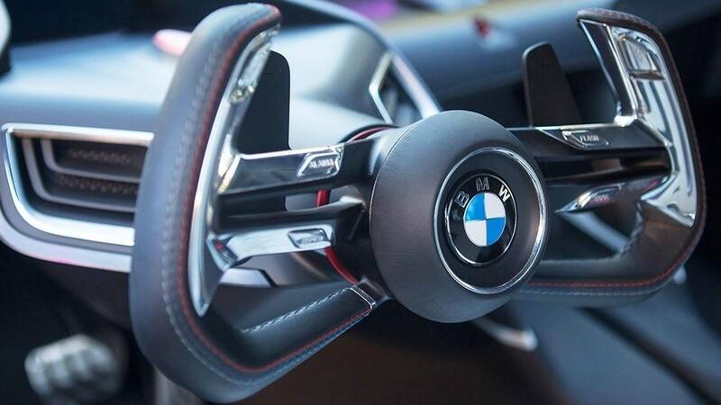 BMW registra la patente de un volante en forma de joystick