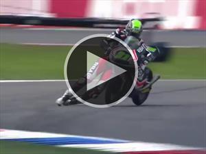 Motociclista evita terrible accidente