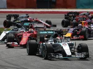 Monoplazas de la F1 podrían ser de 1,000 hp en 2017