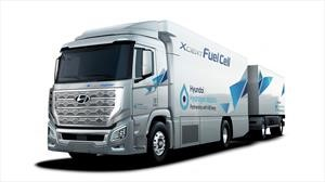 Hyundai H2 Xcient, un camión eléctrico que se mueve a base de hidrógeno