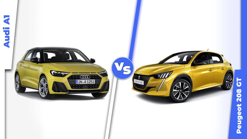Peugeot 208 vs Audi A1, ¿Cuál de los dos es mejor opción de compra?