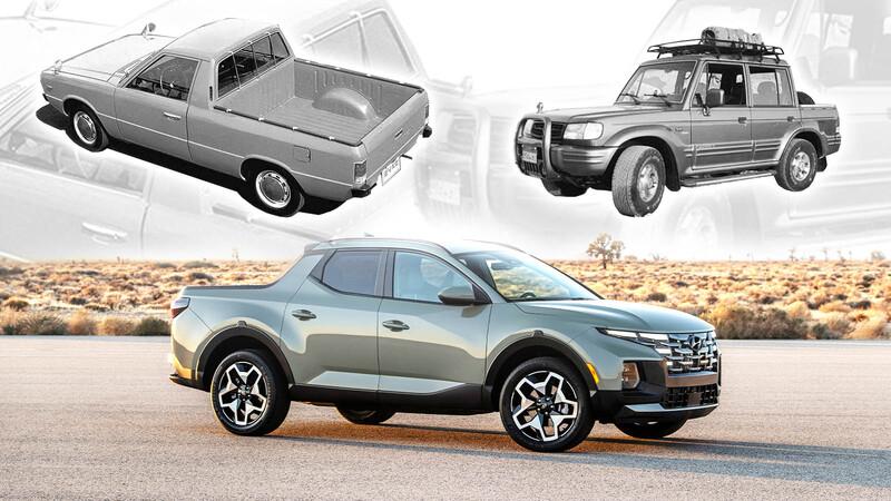 Las predecesoras de la Hyundai Santa Cruz