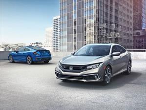 Honda Civic 2019 recibe una ligera actualización