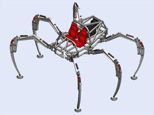 Stompy, el auténtico auto araña