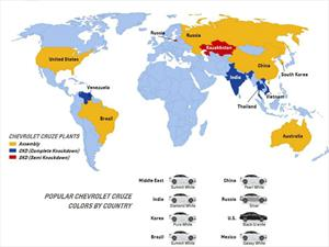 El Chevrolet Cruze superó los 3 millones de unidades vendidas en el mundo