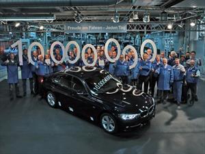 BMW Serie 3 sedán alcanza 10 millones de unidades producidas