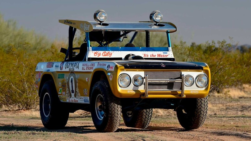 Mirá lo que vale Big Oly, el Ford Bronco de competición de 1969