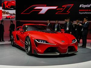 Toyota FT-1 Sports Coupé Concept se presenta