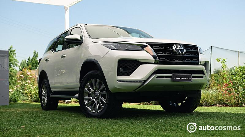 Toyota Fortuner 2021 se presenta en Chile con actualizaciones