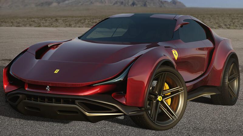 Ferrari Simoom, exuberante propuesta con orientación crossover