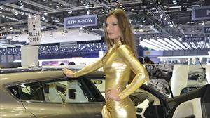 Las chicas del Salón de Ginebra 2013: Belleza, glamour y espectáculo