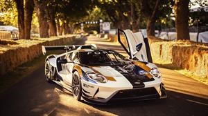 Ford GT Mk2, la evolución destapada en Goodwood