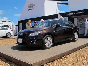 Chevrolet anticipa la renovación del Cruze en Expoagro 2013