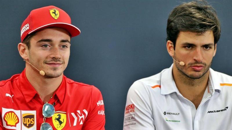 El español Carlos Sainz es el nuevo piloto de Ferrari para 2021