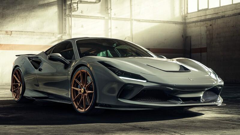 Ferrari F8 Tributo por Novitec: mejorando lo inmejorable