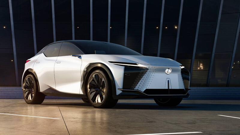 Lexus LF-Z Electrified Concept: un SUV eléctrico sumamente futurista