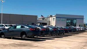Se robaron más de 100 llantas de un concesionario Chevrolet en Estados Unidos