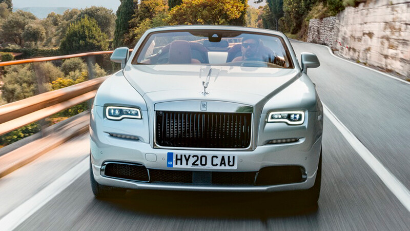 Rolls-Royce Dawn Silver Bullet, belleza descapotable