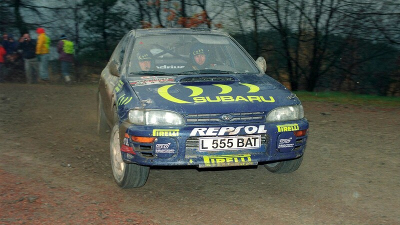 Colin McRae, a 25 años de su histórico campeonato con Subaru en 1995