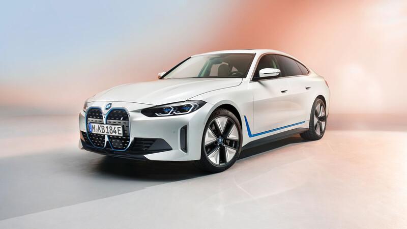 BMW i4, nuevo sedán deportivo 100% eléctrico