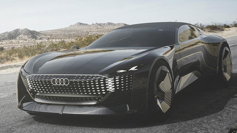 Audi Skysphere Concept, dos autos en uno