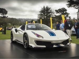 Pebble Beach: Ferrari 488 Spider, explosivamente descapotable