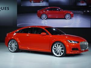 Audi TT Sportback Concept es develado en París
