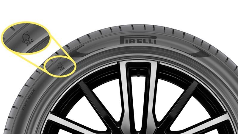 Pirelli produce para BMW la primera llanta con certificación FSC