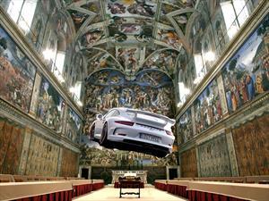 Porsche es la primer compañía en hacer un evento en la Capilla Sixtina