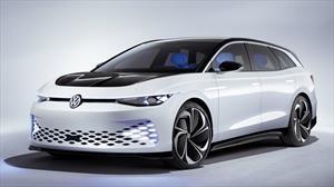 Volkswagen ID Space Vizzion Concept es un station wagon alimentado de electricidad