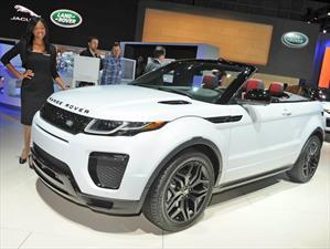 Range Rover Evoque Convertible, el primer SUV descapotable de lujo