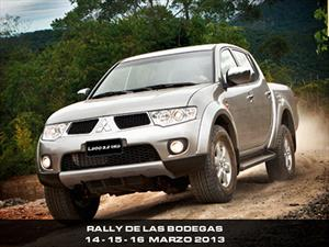 Mitsubishi es el Main Logistic Sponsor del Rally de las Bodegas
