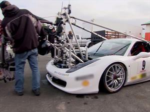 Un Mustang y una Ferrari 458 convertidos en camarógrafos de NFS