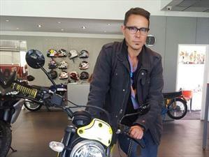Alfredo Lewin es el nuevo embajador de Ducati Chile