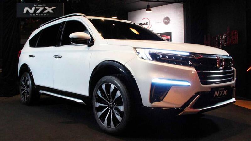 Honda le da los toques finales a su futuro SUV de tres filas para mercados emergentes