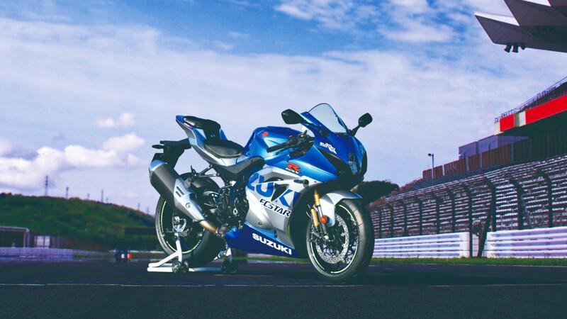 Suzuki celebra sus 100 años con una moto única